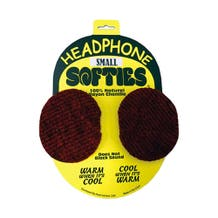 PSC Headphone Softie - Pair of Soft Headphone Earpad Covers Small-Red