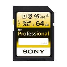 Sony 64GB Ultra-High Durability UHS-I SDXC Memory Card