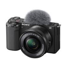 Sony ZV-E10 Mirrorless Camera with 16-50mm Lens - Black