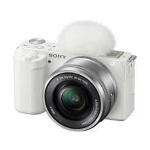 Sony ZV-E10 Mirrorless Camera with 16-50mm Lens Kit - White
