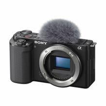 Sony ZV-E10 Mirrorless Camera Body Only, Black