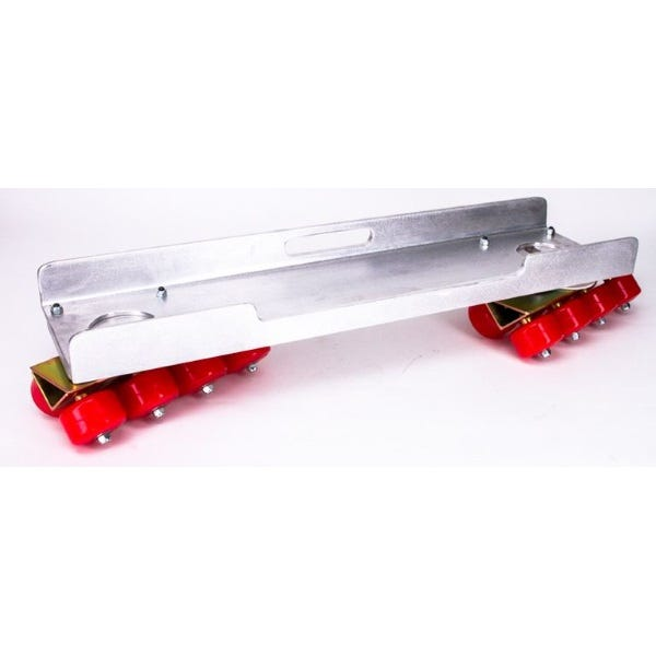 Modern Studio Skateboard Dolly Complete with Channels (Set of 2)