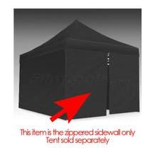 E-Z UP Eclipse™ II Tent 15' Zipper Side/Front Wall Black