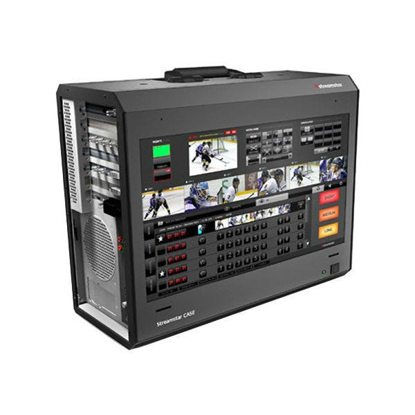 Streamstar Case 710 Portable Multi-Camera Live Production and Streaming Studio