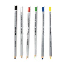 Staedtler Lumocolor Omnichrom Non Permanent Marking Pencils - 6 Colors