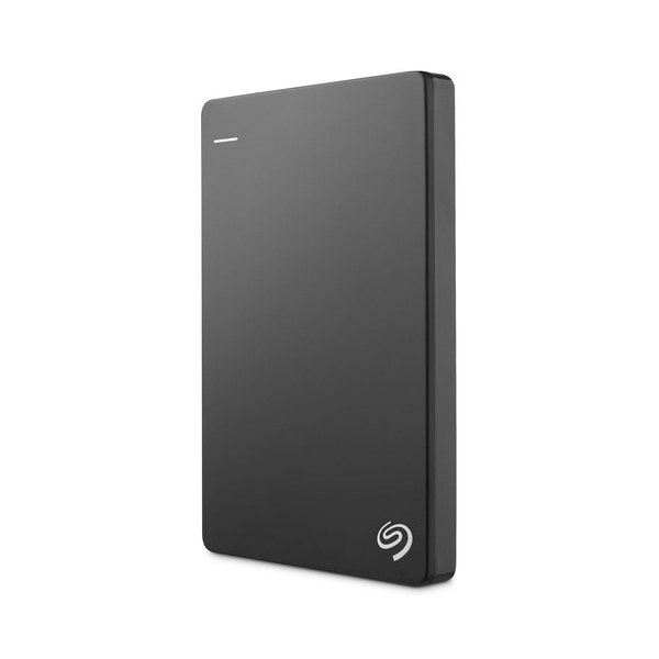 Seagate 1TB Backup Plus Slim Portable External Hard Drive - Black