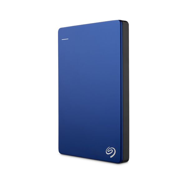 Seagate 1TB Backup Plus Slim Portable External Hard Drive - Blue