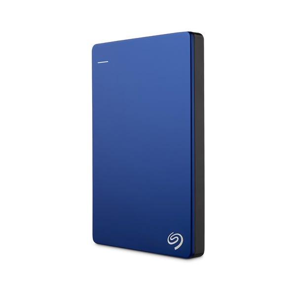 Seagate 2TB Backup Plus Slim Portable External Hard Drive - Blue