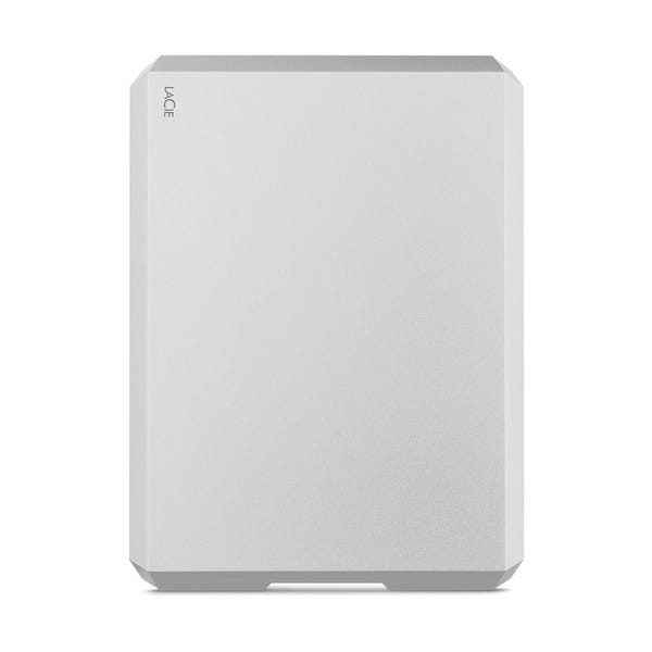 LaCie 4TB USB 3.1 Type-C Mobile Drive (Moon Silver)