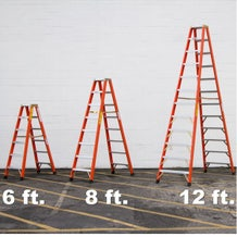 Sunset 8 Foot Double Sided Ladder - FD1A08