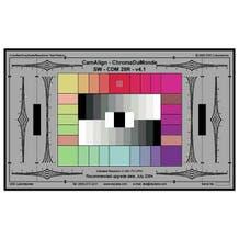 """DSC Labs CamAlign CDM 28R Chroma DuMonde Color Calibration Chart.  21.25"""" x  13"""". w/ Trumpets"""