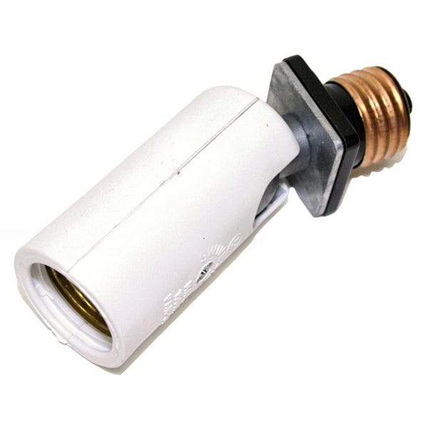 "Swivelier 3"" Medium Base Socket Extension - White"