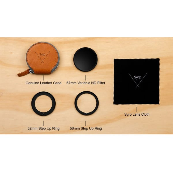 Syrp Variable ND Filter Kit Super Dark - Small