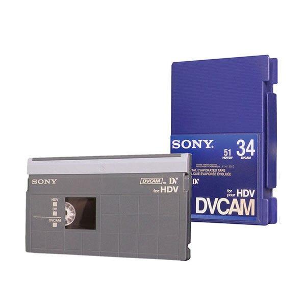 Sony 34 Minute DVCAM for HDV Tape