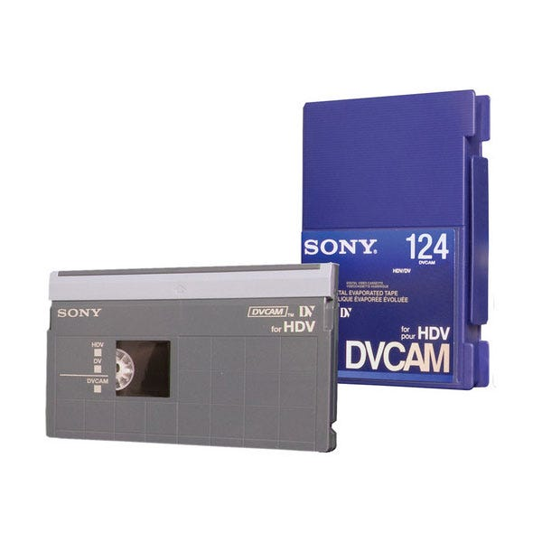 Sony 124 Minute DVCAM for HDV Tape
