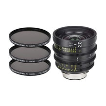 Tokina Cinema ATX 11-20mm T2.9 Zoom Lens with 3 x PRO IRND 86mm Filter Kit 2 (E Mount)