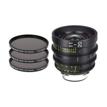 Tokina Cinema ATX 11-20mm T2.9 Zoom Lens & 3 x PRO IRND Filter Kit (PL Mount)