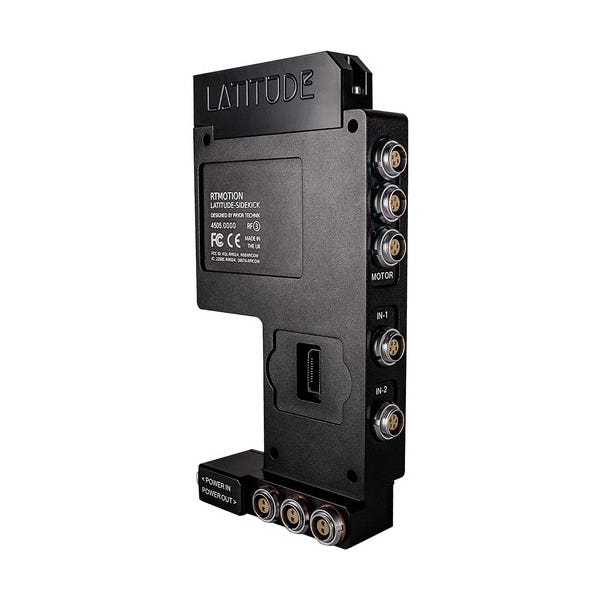 Teradek RT Latitude MDR-SK SIDEKICK Interface for Red DSMC2 Cameras (3 Axis)