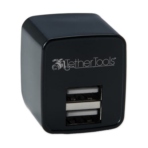Tether Tools Rock Solid Dual USB to AC Wall Adapter - US