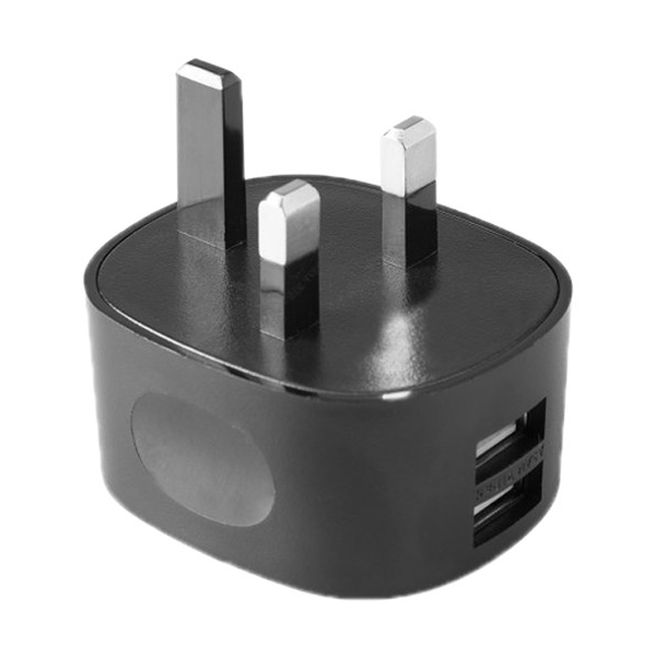 Tether Tools Rock Solid Dual USB to AC Wall Adapter - UK