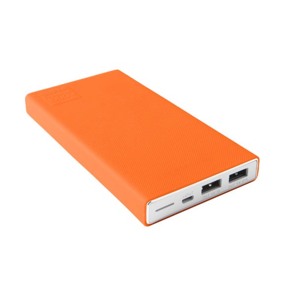 Tether Tools Rock Solid External Battery Pack Protective Sleeve - Orange