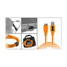 Tether Tools Starter Tethering Kit with USB 3.0 Micro-B Cable - Orange