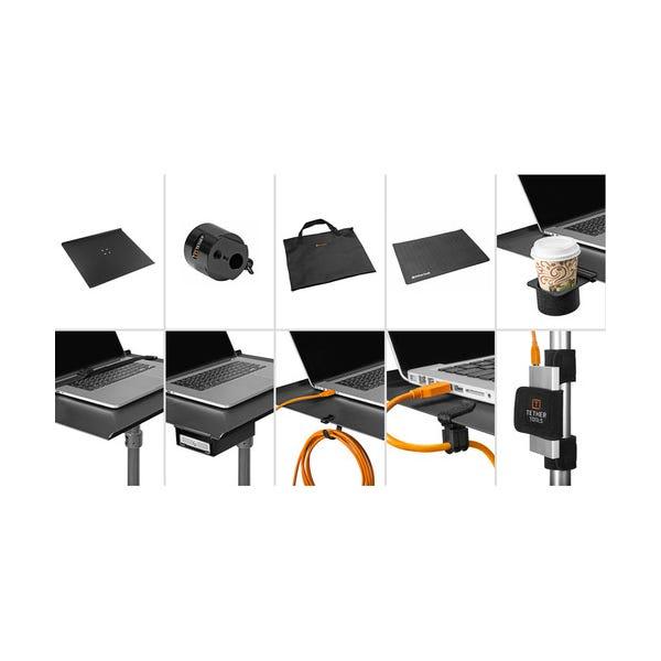 "Tether Tools Aero Traveler Pro Tethering Kit w/ 16 x 14"" Pad"