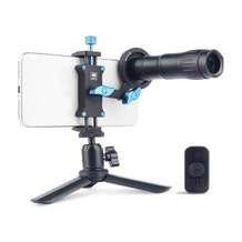 Sirui TL-400-3 Telephoto Lens 400mm with Clip and Bluetooth Remote for Smartphones