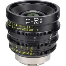 Tokina Cinema 11-20mm T2.9 w/ EF Mount