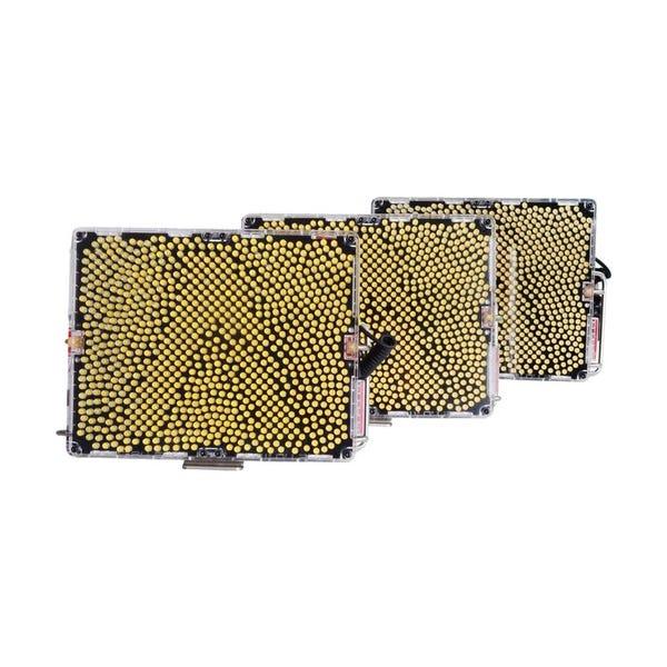 Aputure Amaran Tri-8 Light Kit with 2 Daylight Spots, 1 Bi-Color & Anton Bauer Battery Plates
