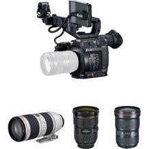 Canon EOS C200 EF Camera w/ Triple Lens Kit