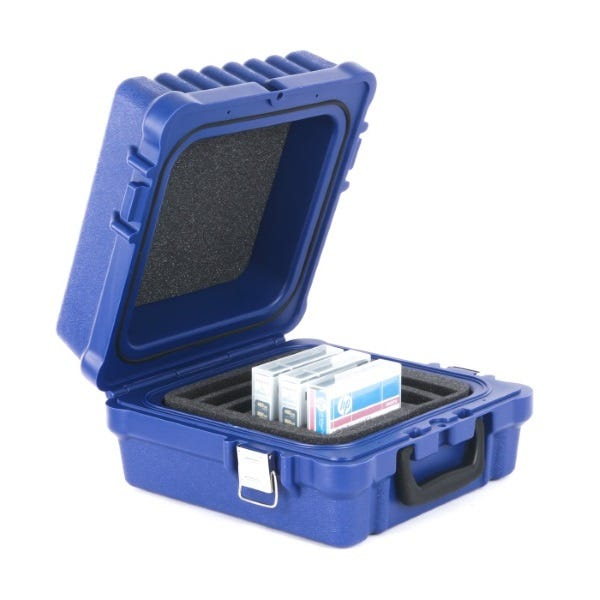 Turtle Data RDX/DLT/LTO-10 Case - Blue