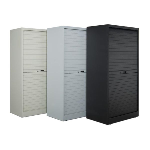 "Turtle Data 66"" High Cabinet - with 11 MultiMedia Shelves"