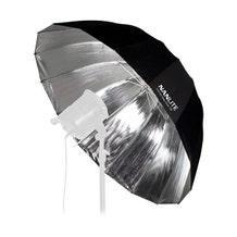 "Nanlite Deep Umbrella 135 (Silver, 53"")"
