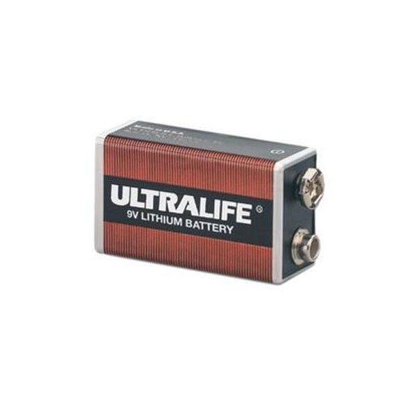 Ultralife Long-Life 9V Lithium Battery