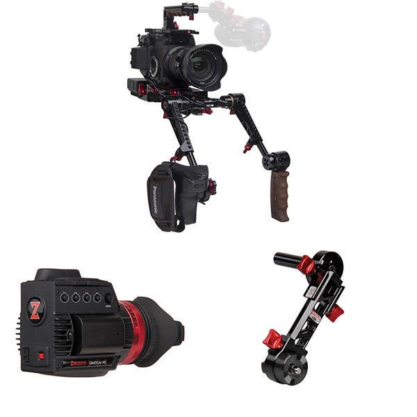 Zacuto Gratical HD Recoil Pro With Dual Grips Bundle for EVA1