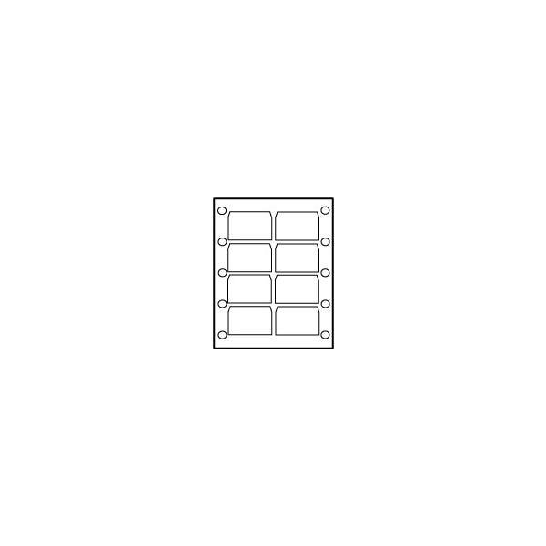 XDCAM/XDCAM HD Disc Label - 8 per sheet
