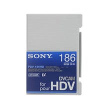 Sony DVCAM HDV Cassette Tape 186 minutes