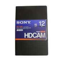 Sony HDCAM 12 Minute Tape