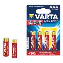 "Varta AAA Extra Longlife Photo ""Titanium"" Batteries (4 Pack)"