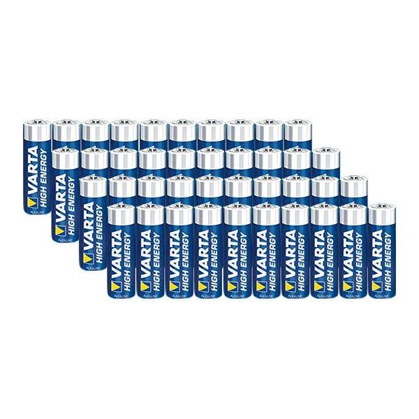 "Varta AA Extra Longlife Universal ""Titanium"" Batteries (40 Pack)"