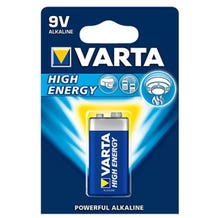 """Varta 9V Extra Longlife Alkaline """"Titanium"""" Battery"""