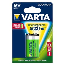Varta 9V Ni-MH Rechargeable Battery