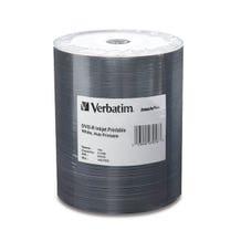 Verbatim DVD-R 4.7GB 16x Inkjet Printable Disc - 100pc