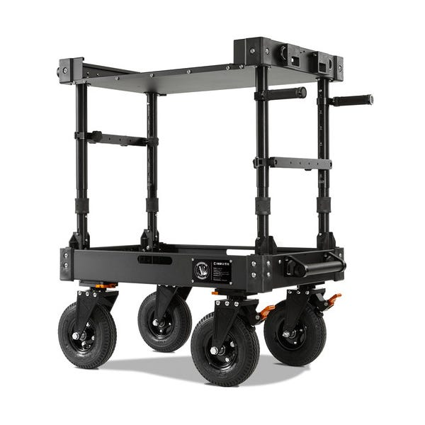 Inovativ Voyager 30 EVO Equipment Cart with X-Top Keyboard Shelf