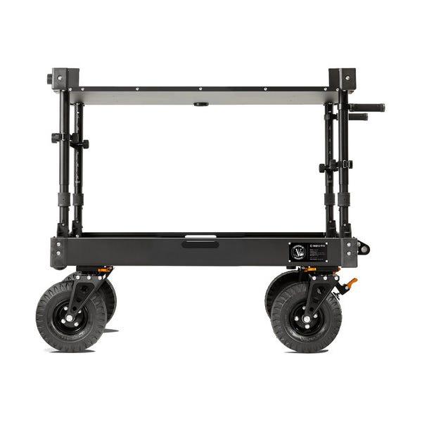 Inovativ Voyager 42 EVO Equipment Cart with X-Top Keyboard Shelf