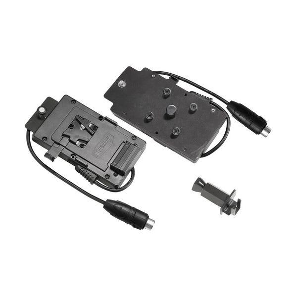 VELVET Light V-Lock to XLR3 Battery Plate for MINI 1 LED Light