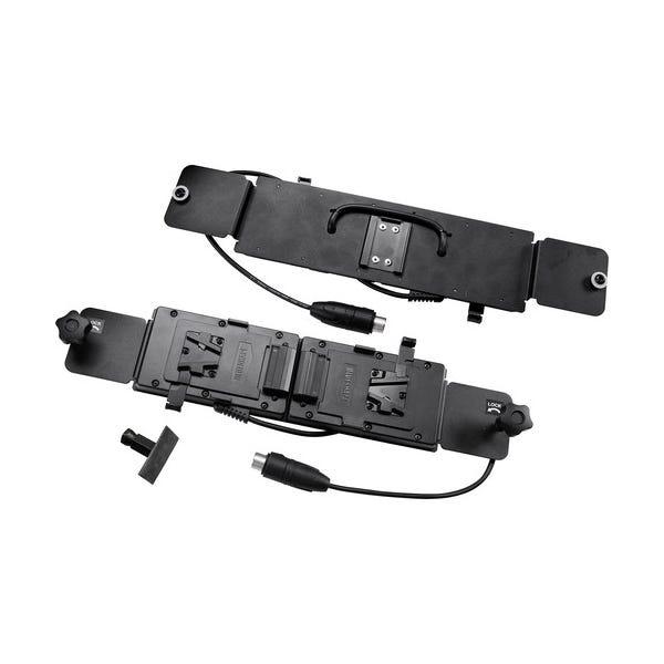 VELVET Light Double V-Lock Battery Plate for VELVET Light 2 LED Light