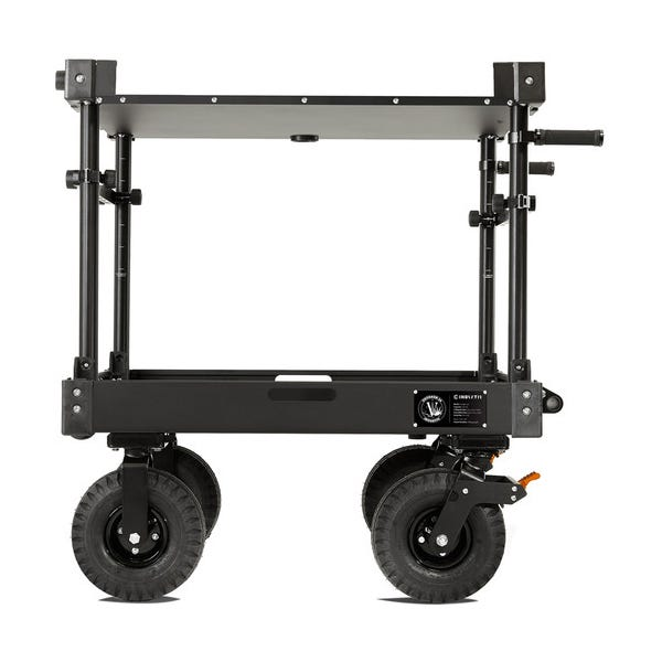 Inovativ Voyager 36 NXT Equipment Cart with X-Top Keyboard Shelf