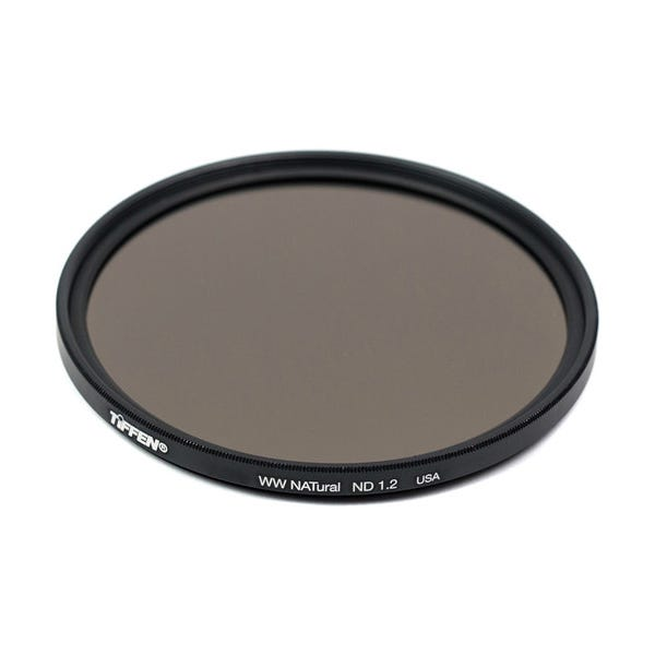 Tiffen 55mm Water White Glass NATural IRND 1.2 Filter - 4 Stop